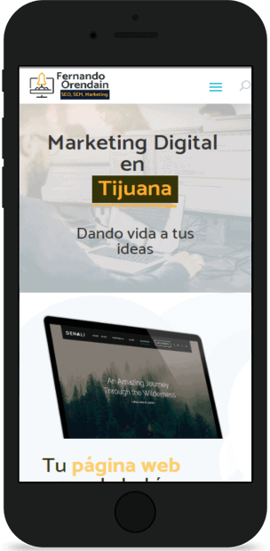 Pagina Web de Tijuana en Movil