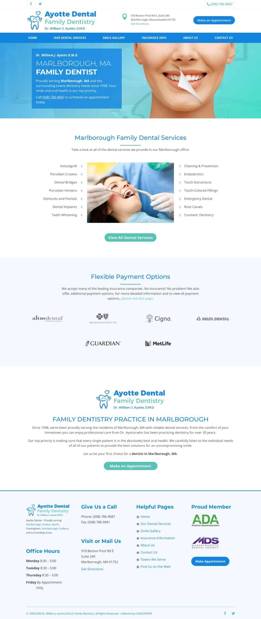 Ejemplo Ayotte Dental